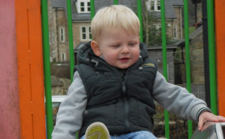 Lucas, who was diagnosed with Neuroblastoma