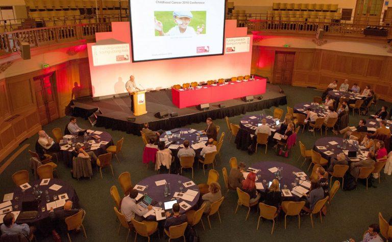 Speaker at a Childhood Cancer conference