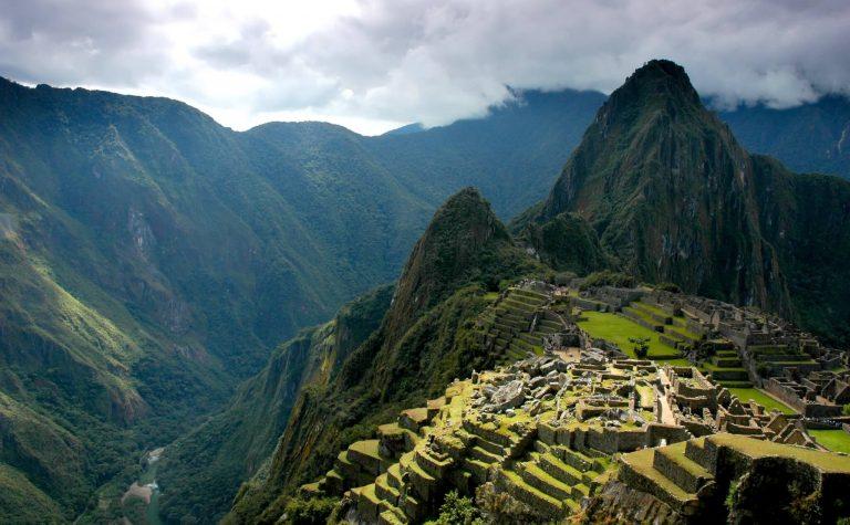 Inca landscape