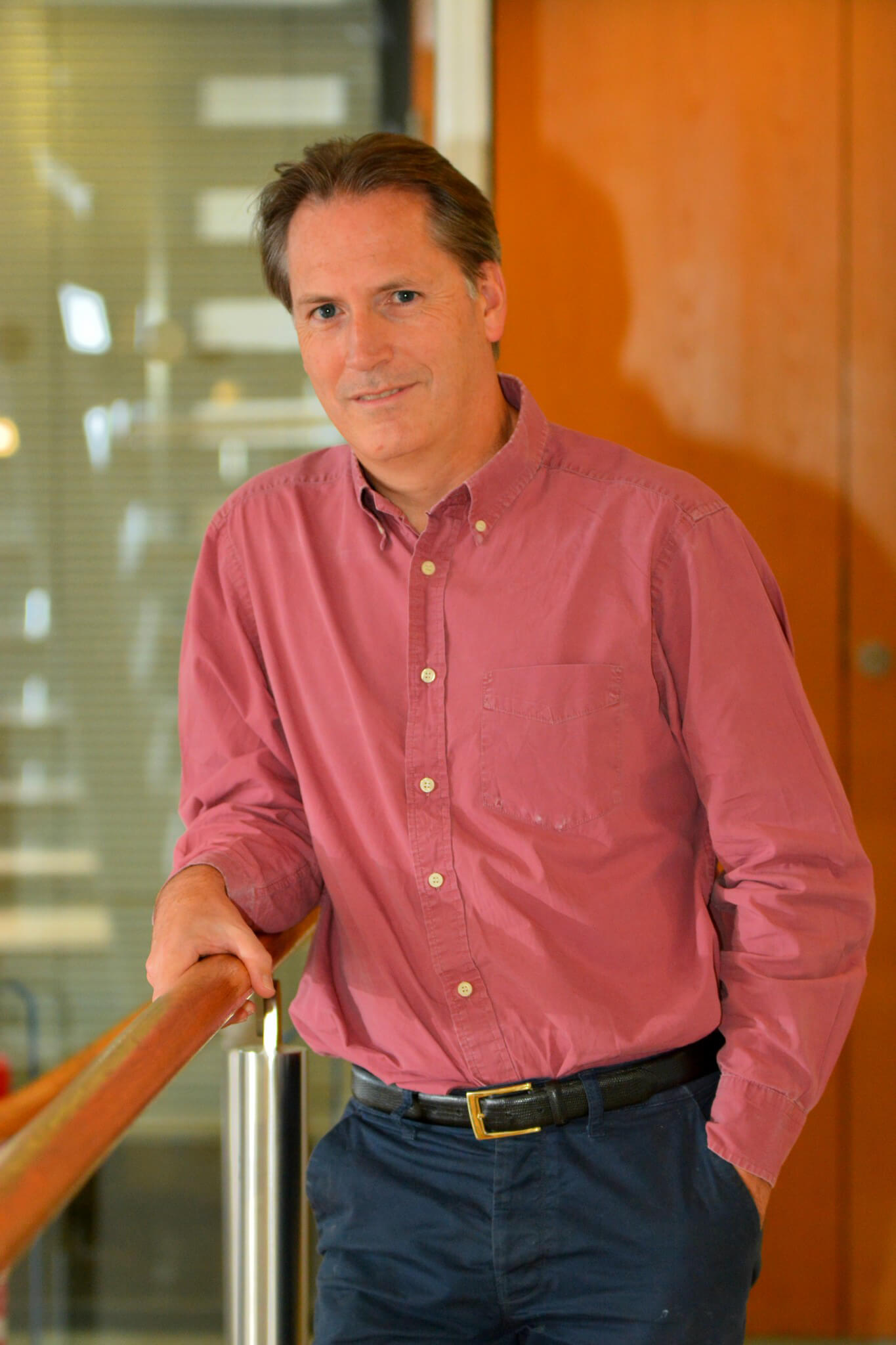 John Anderson who is researching ways to reduce the toxicity of neuroblastoma & osteosarcoma treatment