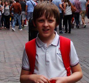 Liam aged 12