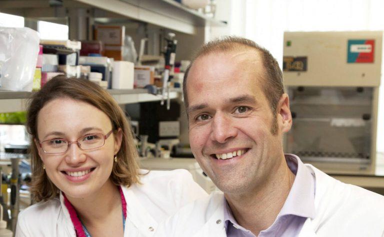Marc Tischkowitz and scientist