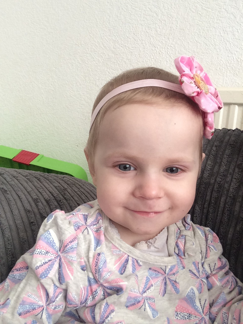 Krystal was diagnosed with the rare childhood cancer rhabdomyosarcoma at 11 months old