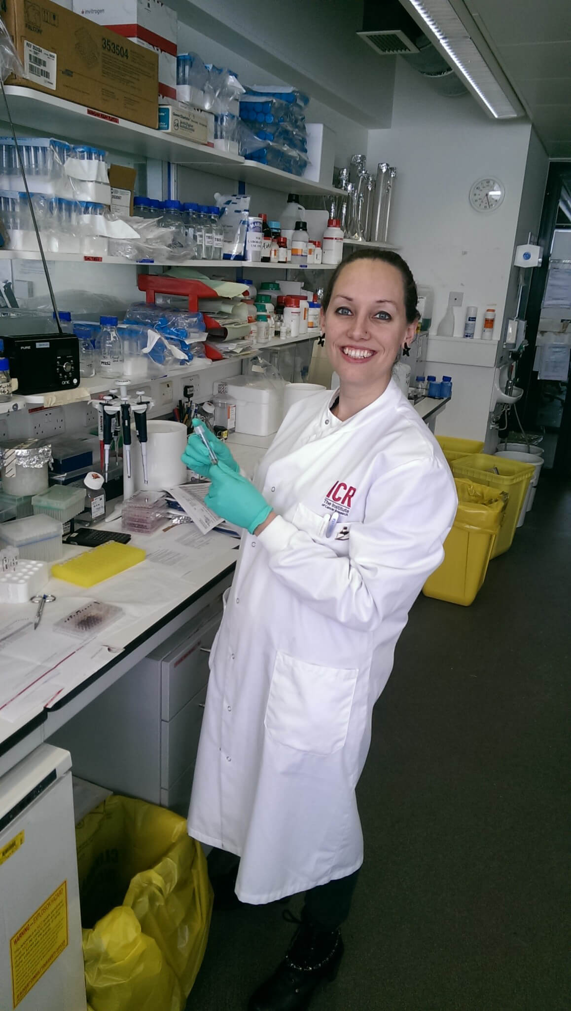 Dr Zoe Walters is researching new treatments for rhabdomyosarcoma