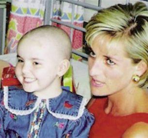 Hollie with Princess Diana