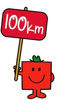100km icon