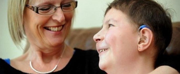 mother and son recovering from brain tumour - we're researching brain tumours, like medulloblastoma
