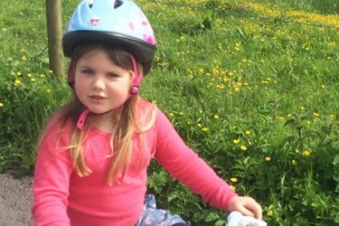 Elin was 5 years old when she was diagnosed with a brain tumour