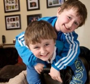 Brothers, Ethan and Kai,were treated for leukaemia at Birmingham Children's Hospital