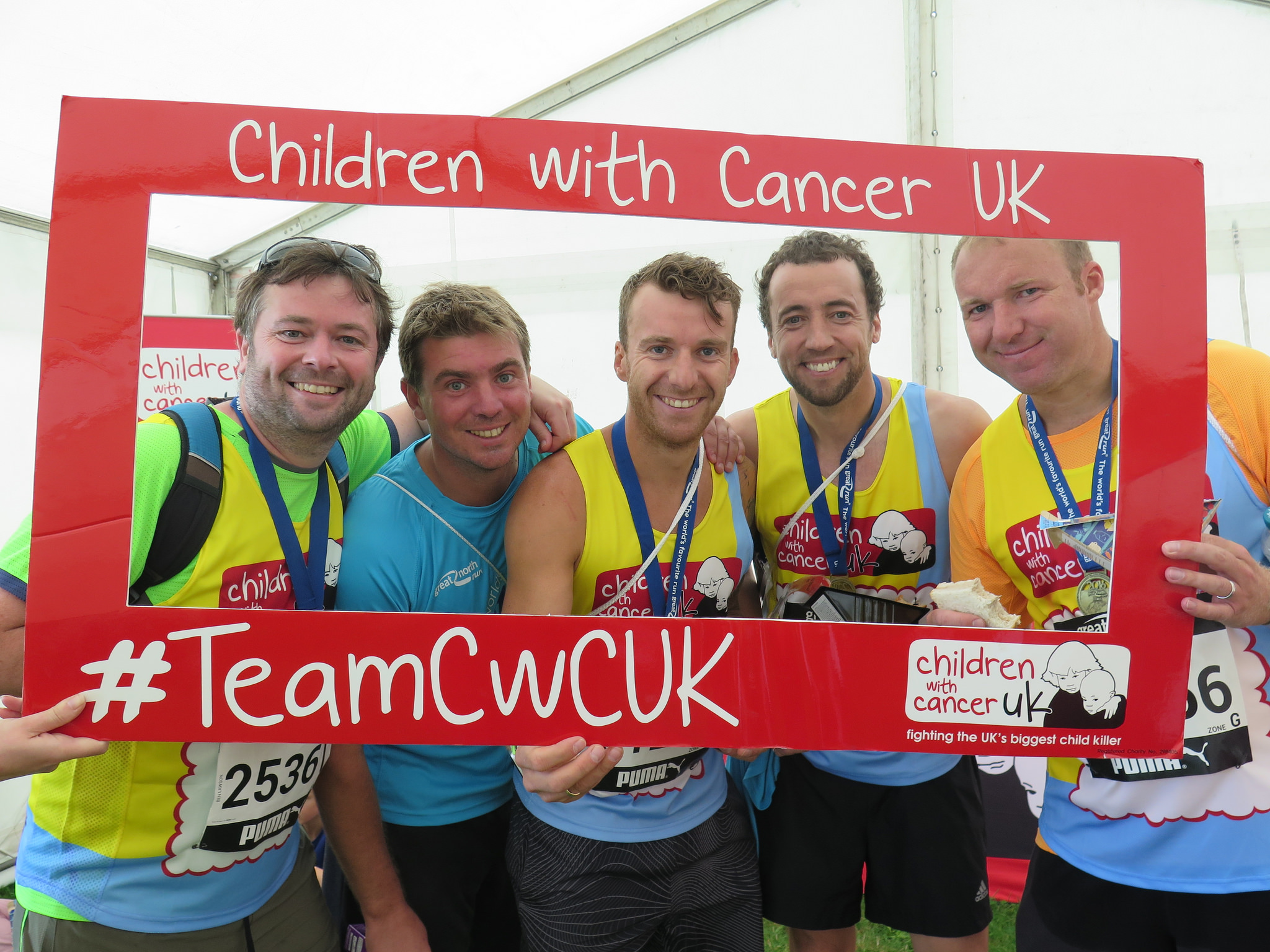 Run The Great North Run | Children with Cancer UK