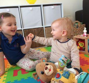 two little kids