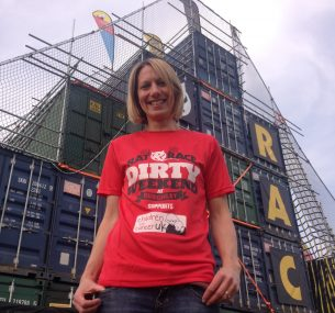Liz lady in red t shirt dirty weekend