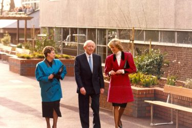 Eddie and Marion O'Gorman and Princess Diana