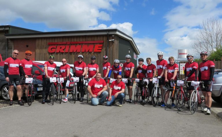 Grimme cycling team ready to go