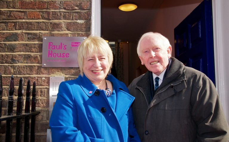 Pauls house London opening with Eddie