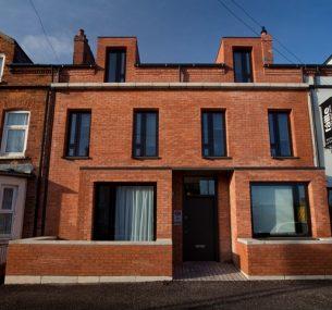 Pauls House belfast red bricks