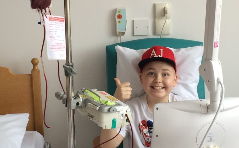 Felix He has also had a number of blood transfusions