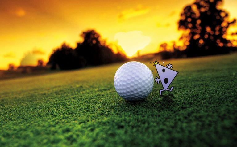 Mr. Rush Golf Ball