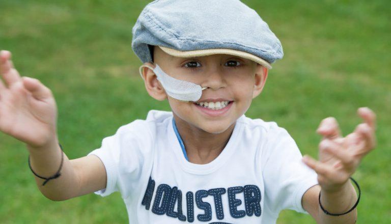 Jaiveer boy with cap
