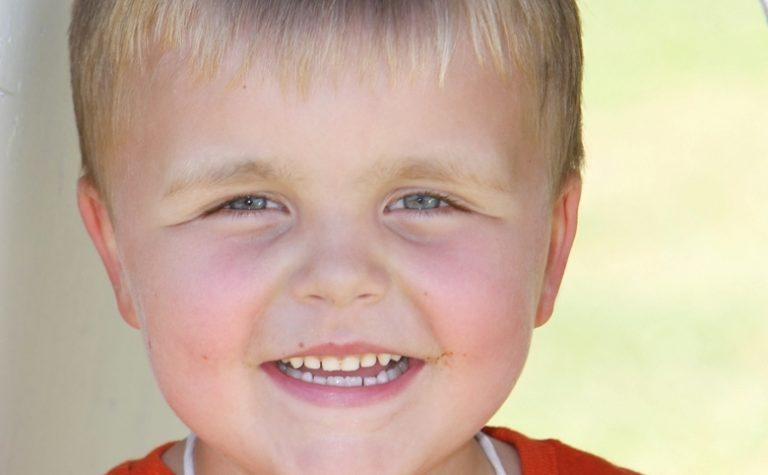 A smiling Alex
