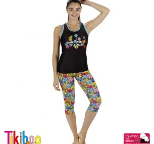 Tikiboo leggings and top