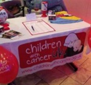 fundraising table