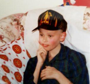 Darren boy wearing black cap