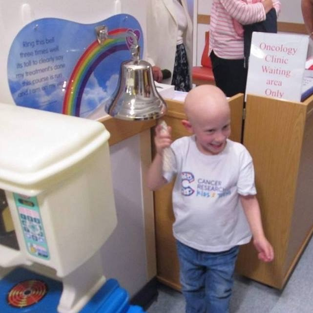 Jacob boy ringing the bell