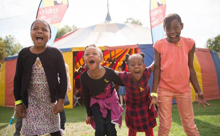 Children at Zippos Circus