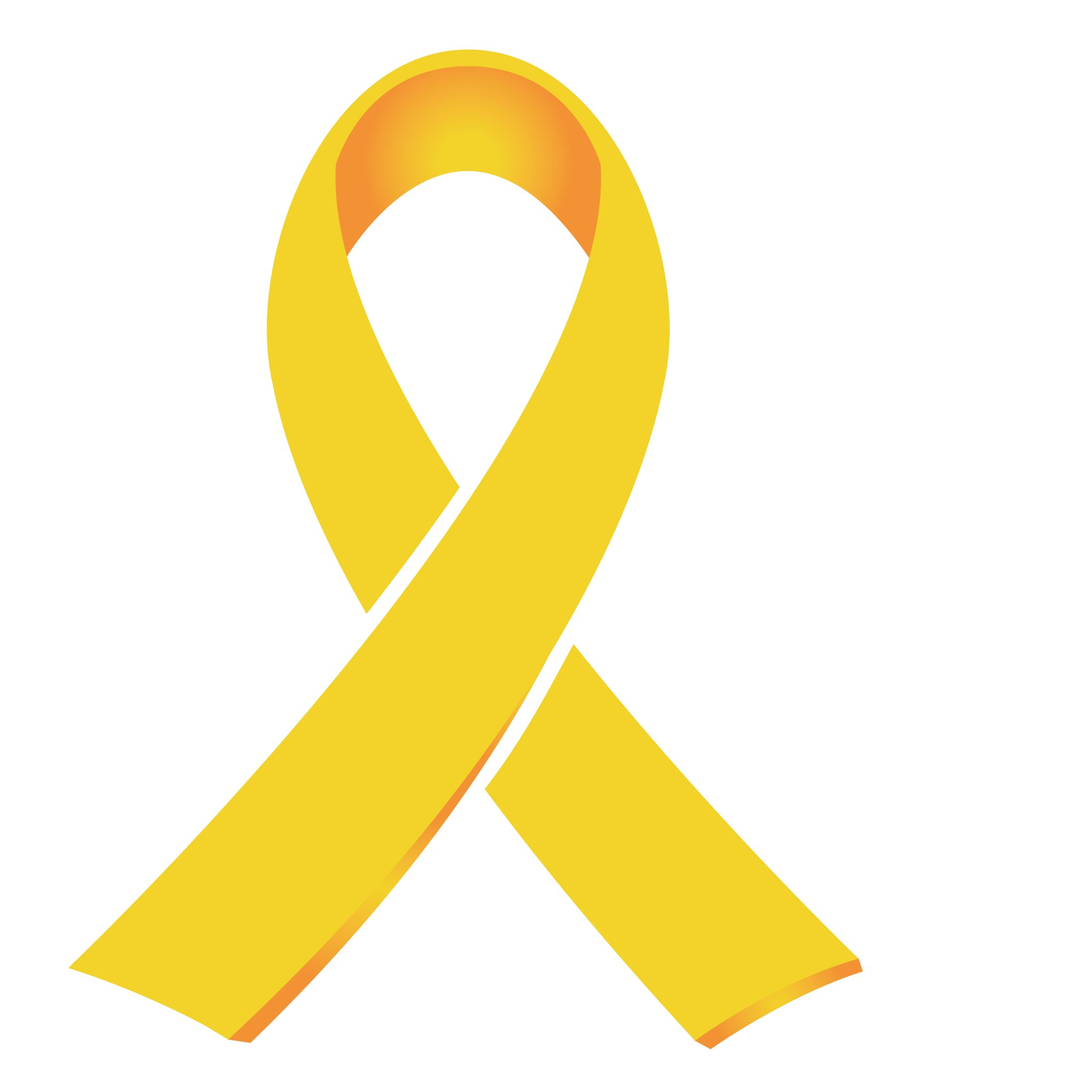 GOLD RIBBON Childhood Cancer Awareness Month</p> <a href=