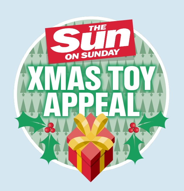 Sun on Sunday Xmas Toy Appeal
