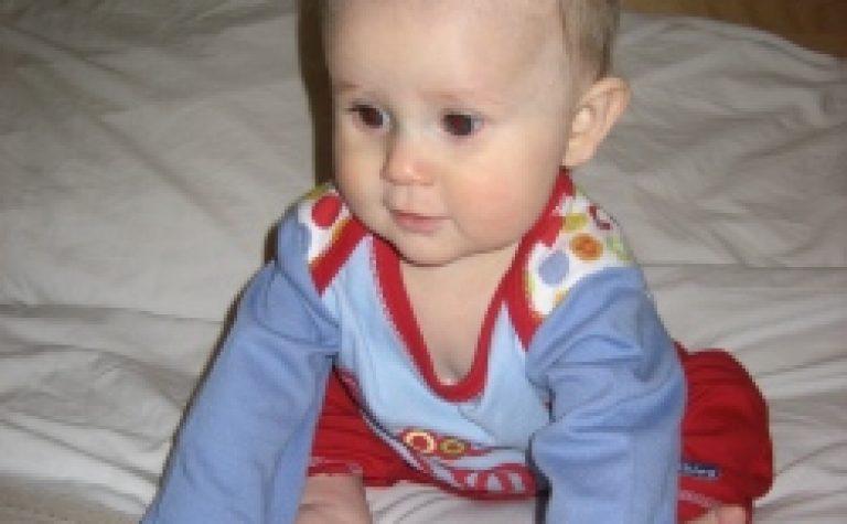 Luke when he was a baby