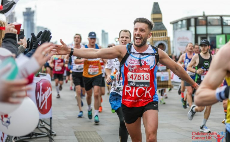 Running for Children with Cancer UK
