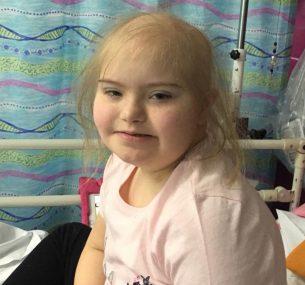 aml leukaemia in children: Abbie