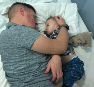 Jaymen with dad