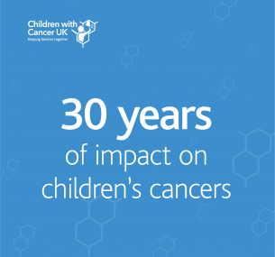30 years of impact on children's cancers