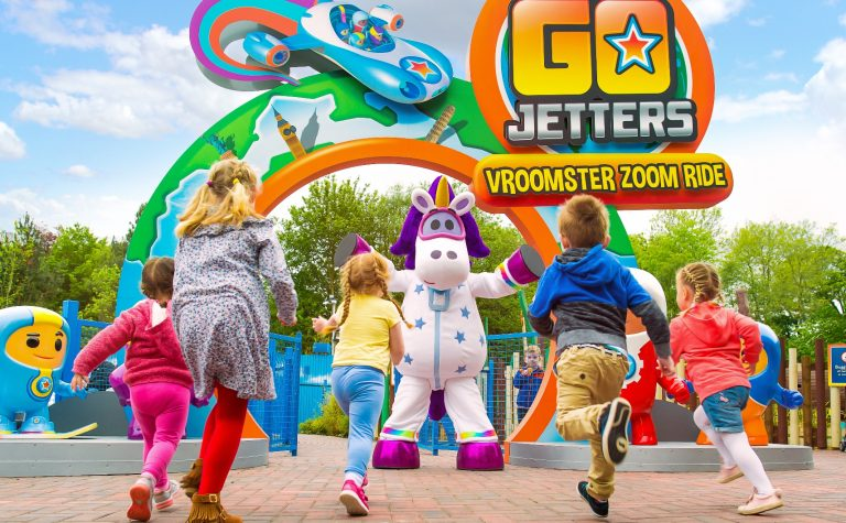 Go Jetters at Alton Towers