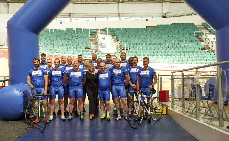Kwik Fit tour de branch cycling team