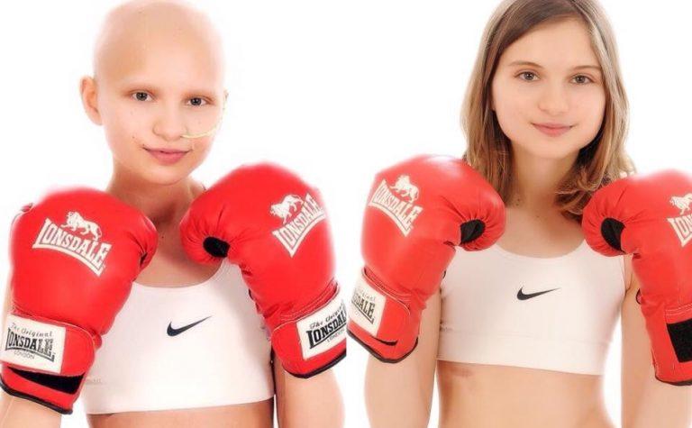 Fighting cancer Ellie