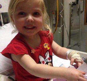 Sofia in hospital