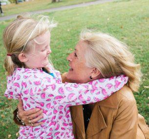 Daisy and her grandma