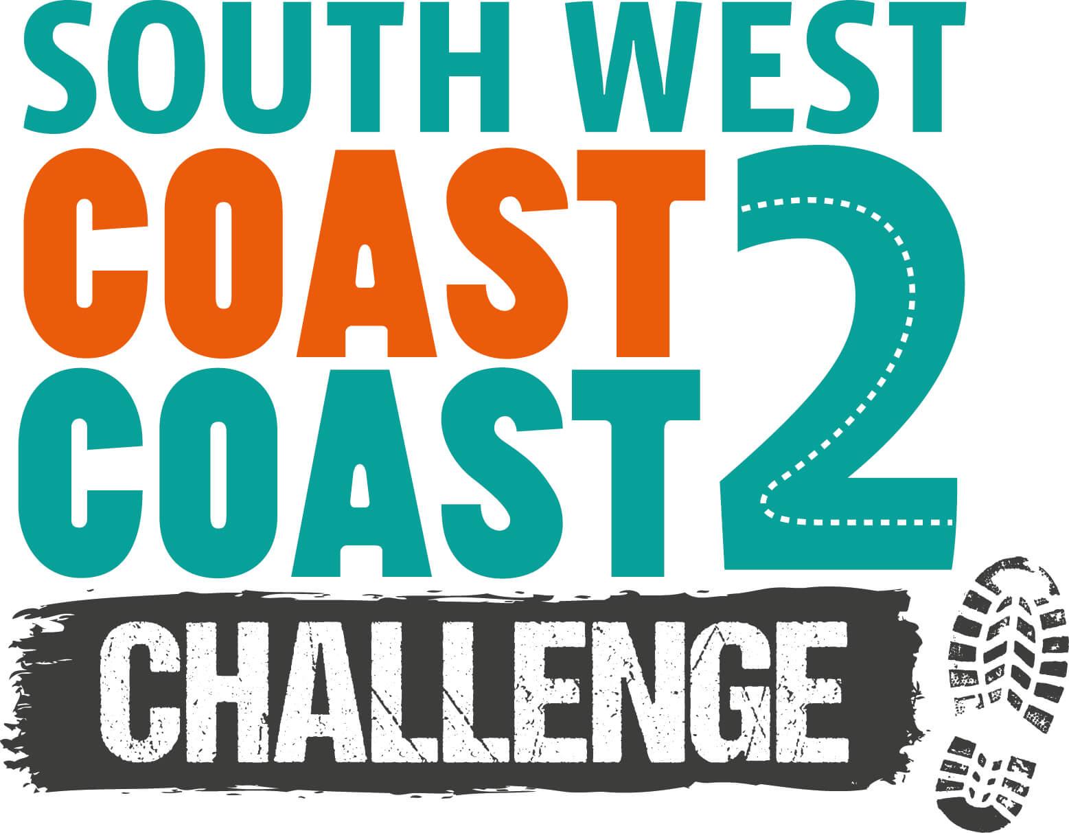 south west coast to coast challenge Logo CMYK