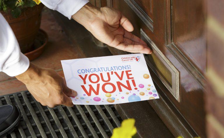 Winners envelope