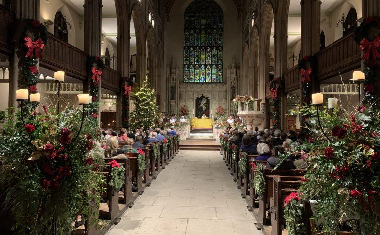 Christmas at St Luke church