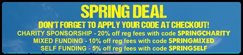 Spring Deal for ultra challenge events