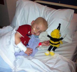 Ollie unwell in hospital