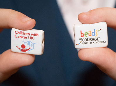 two beads of couraage