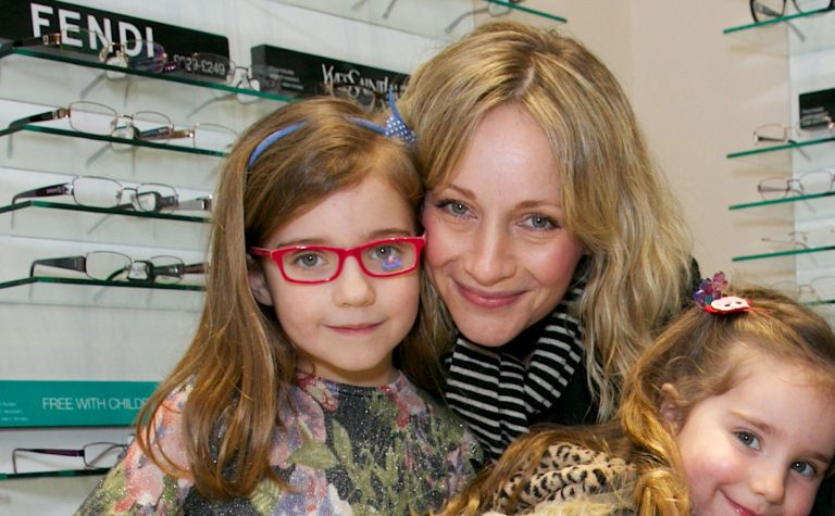 Kaye Wragg and her daughter Matilda, who was diagnosed with a brain tumour