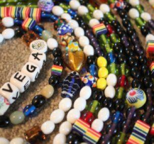 Vega's beads of courage