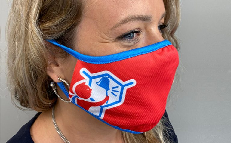 Adult Children with Cancer UK Covid-19 mask